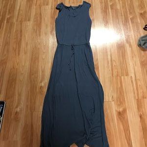 Medium three dots blue maxi dress